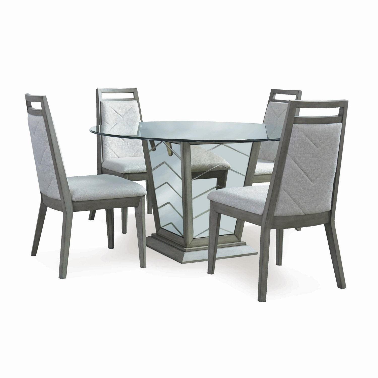 e33db789c9 Home Vienna 5PC Round Dining Set. Click or scroll to zoom. Tap or pinch to  zoom
