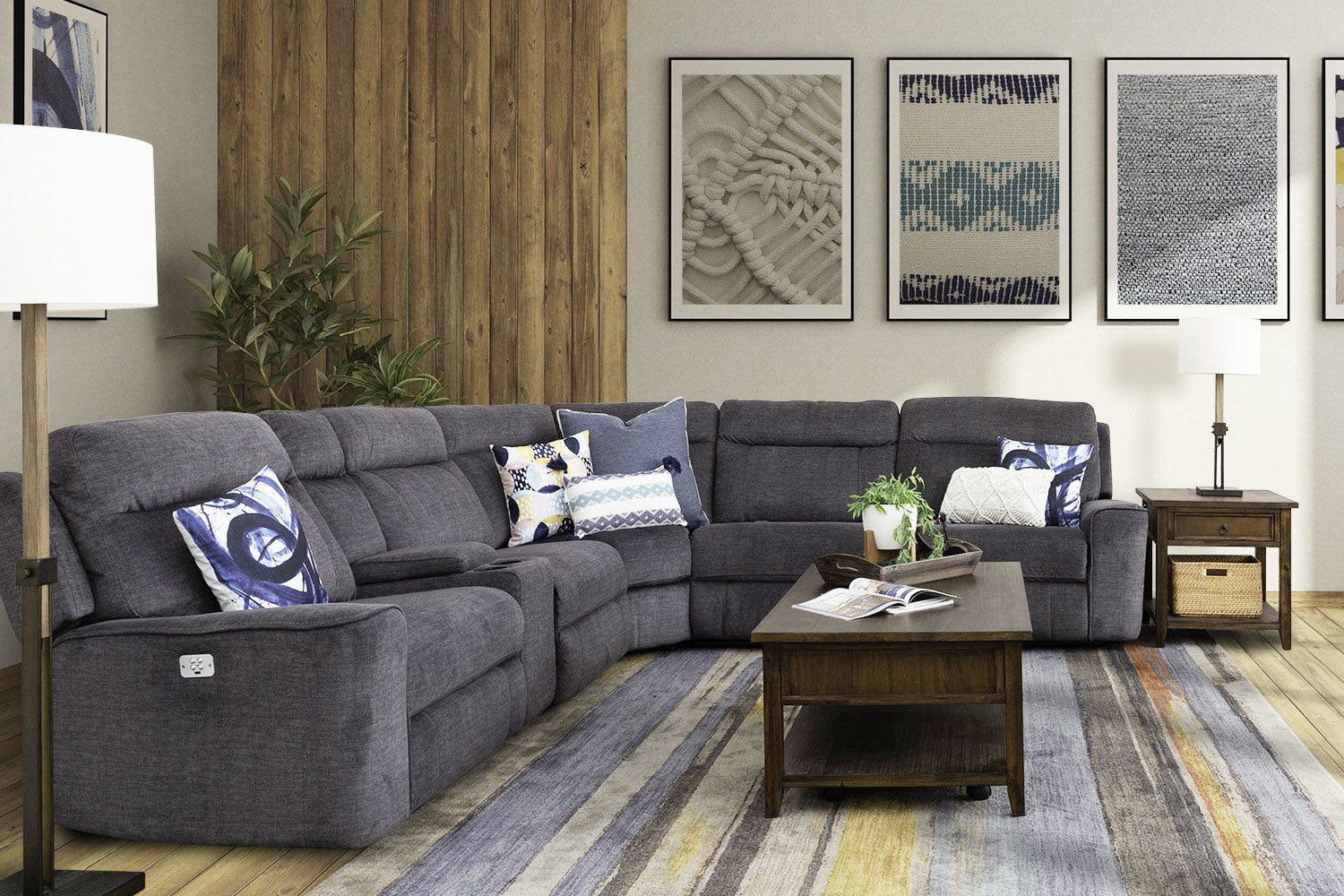 Tahoe 6-Piece  Power Reclining Sectional