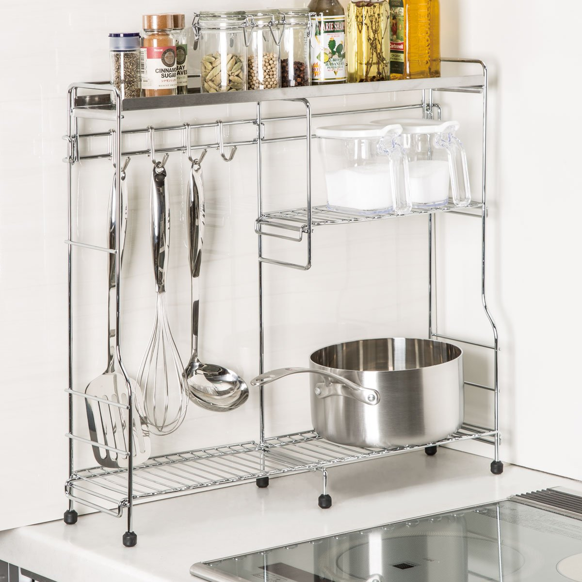 Counter & Spice Rack