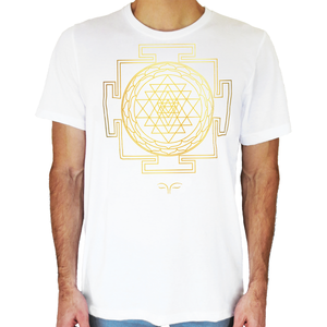 Sri Yantra Sacred Geometry T-Shirt