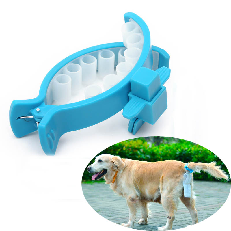 Handsfree Tail Clip Poo Bag + 20 Poo Bags