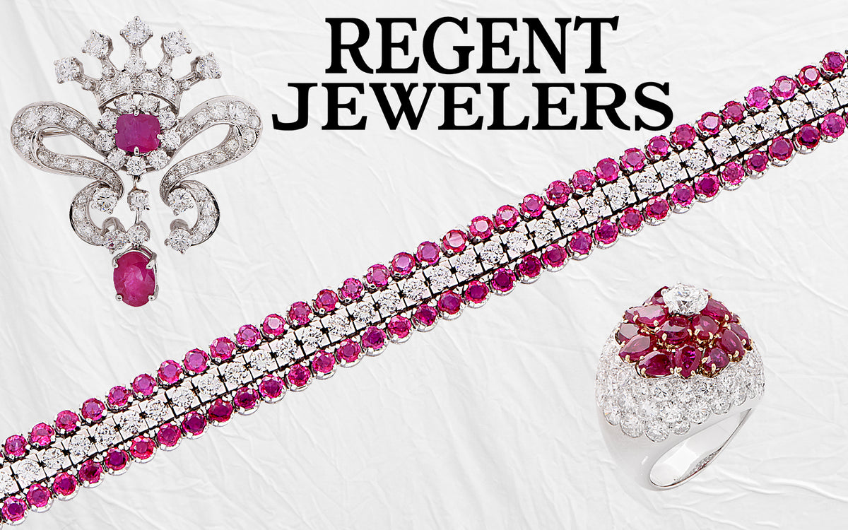 regent berries brooch picking art diamond motif products pi bird main nouveau jewelers ruby platinum