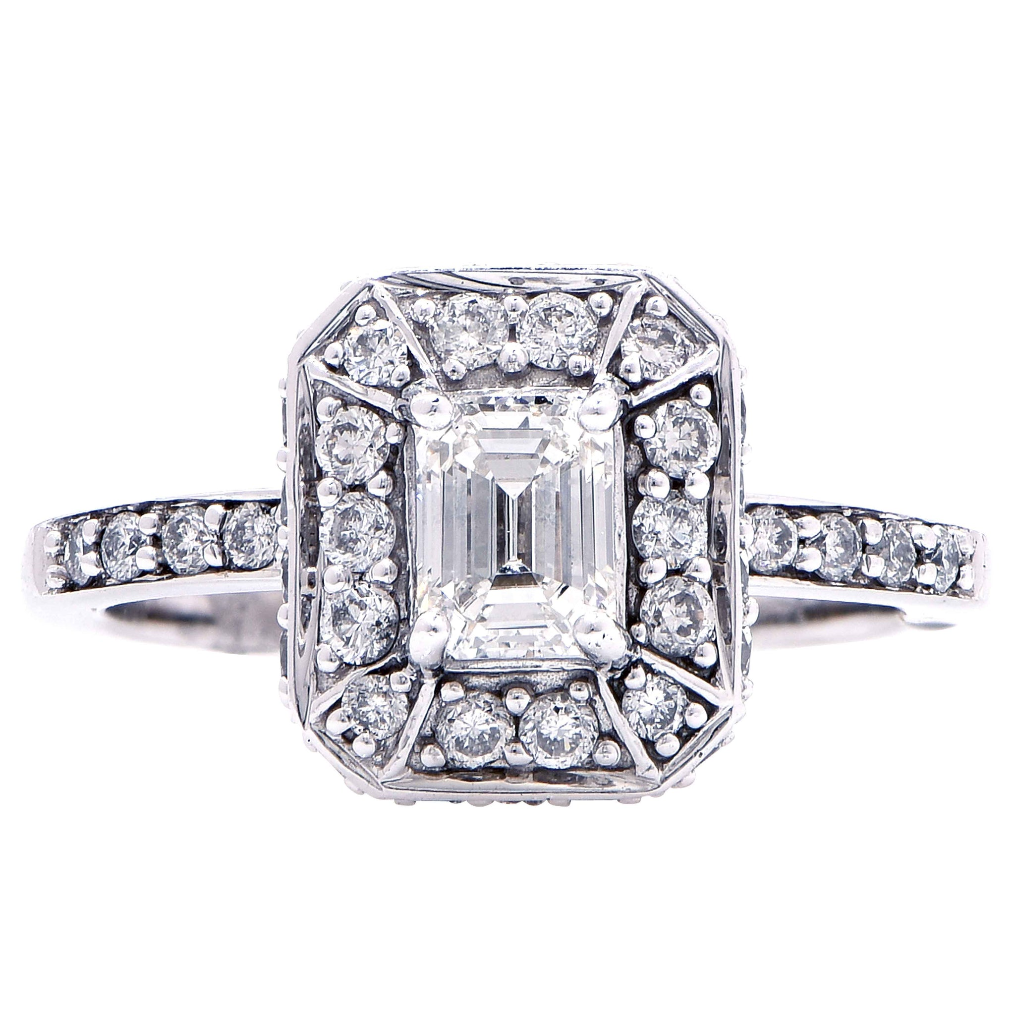 rings fits ring jewellery diamond tacori products sz engagement platinum carat emerald size cut