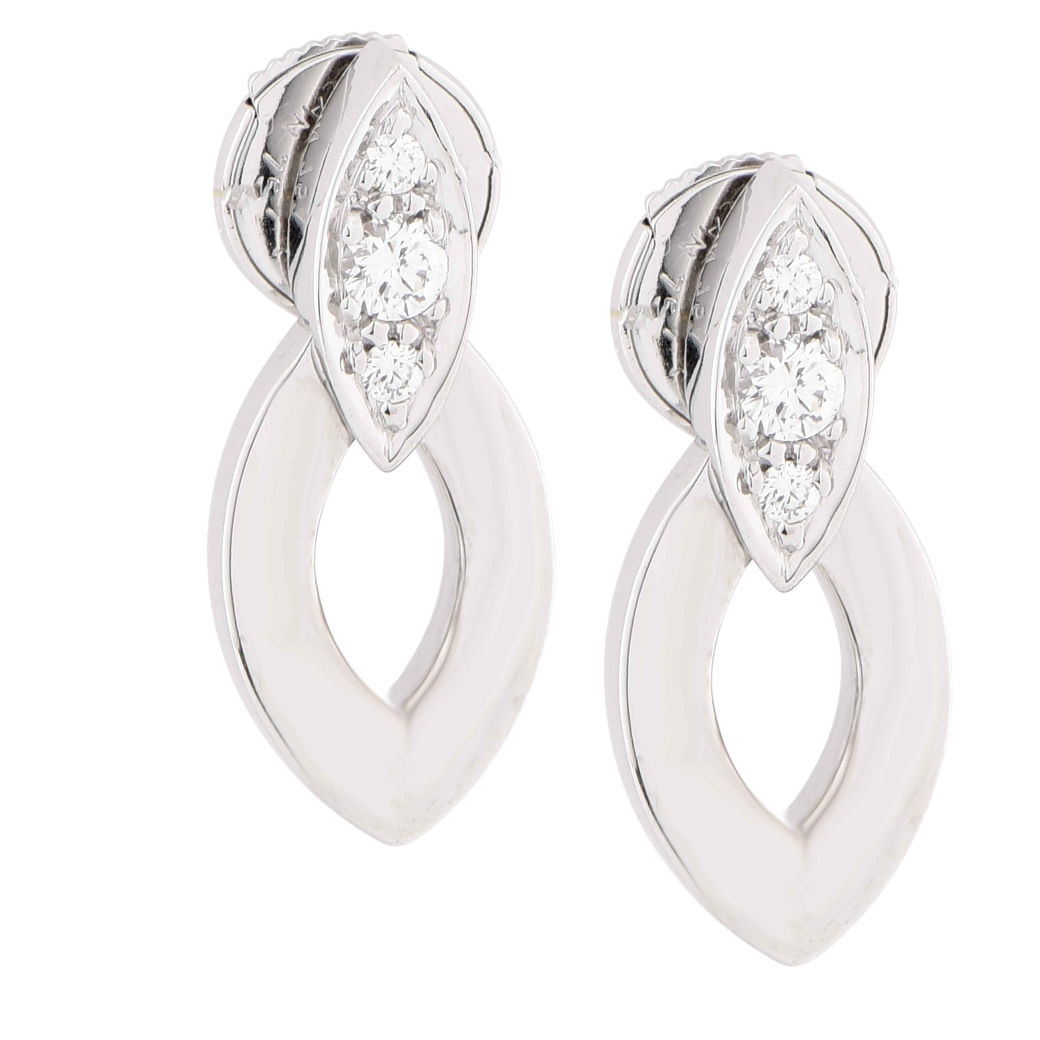 white ger miracle on jewelers main diamond gold sapphire mile products regent earrings