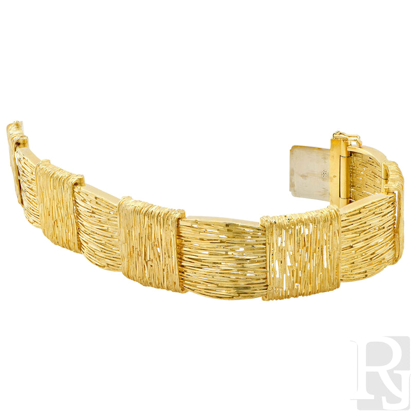 Cartier 18 Karat Yellow Gold Bracelet