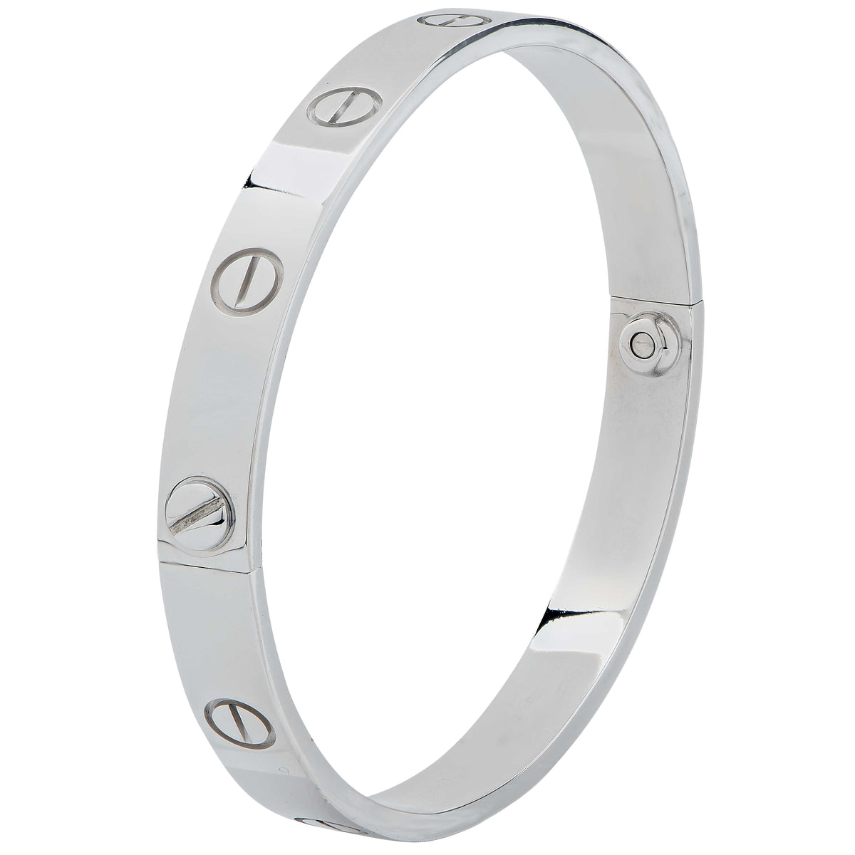 Cartier Love Bracelet 18 Karat White Gold