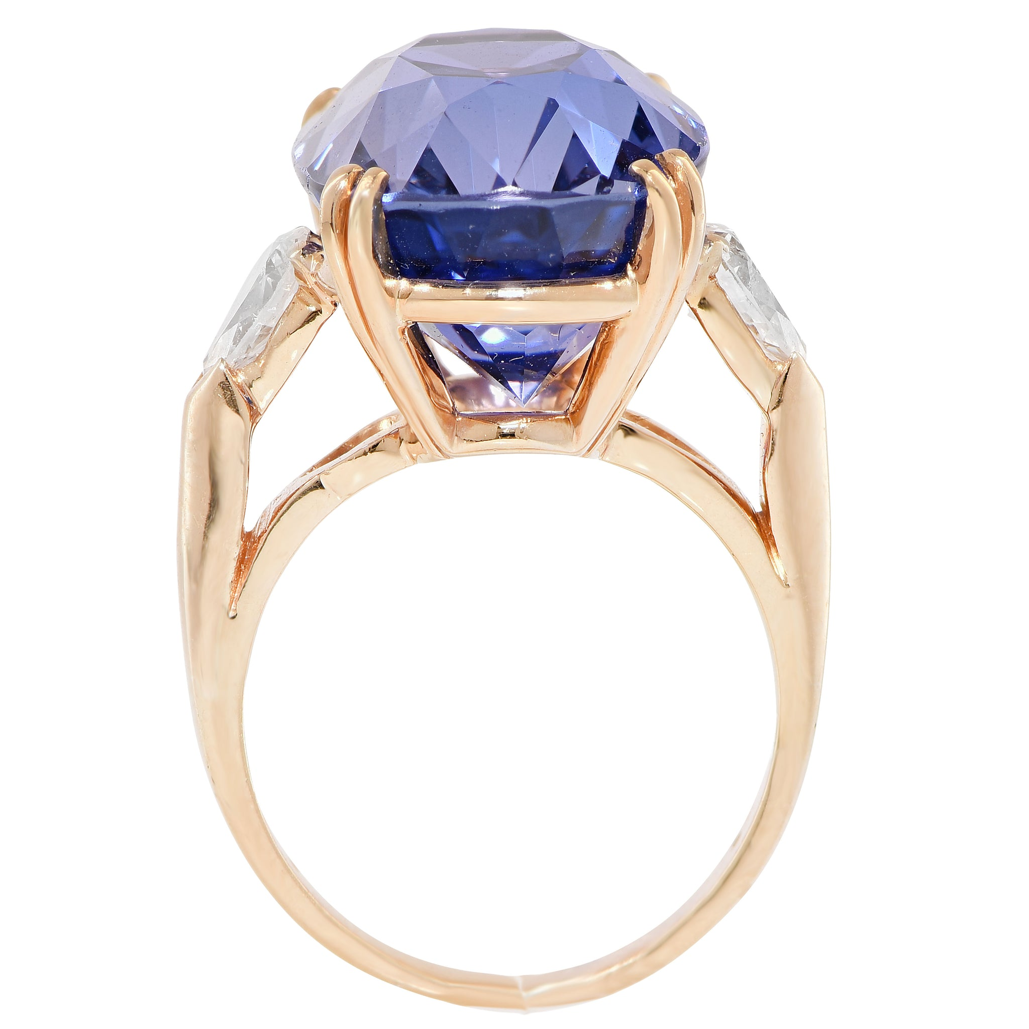 sapp mod emerson rose conflict engagement champagne sapphire with products colored in diamond halo peach diamonds ps gold rings kristin cultured free ring
