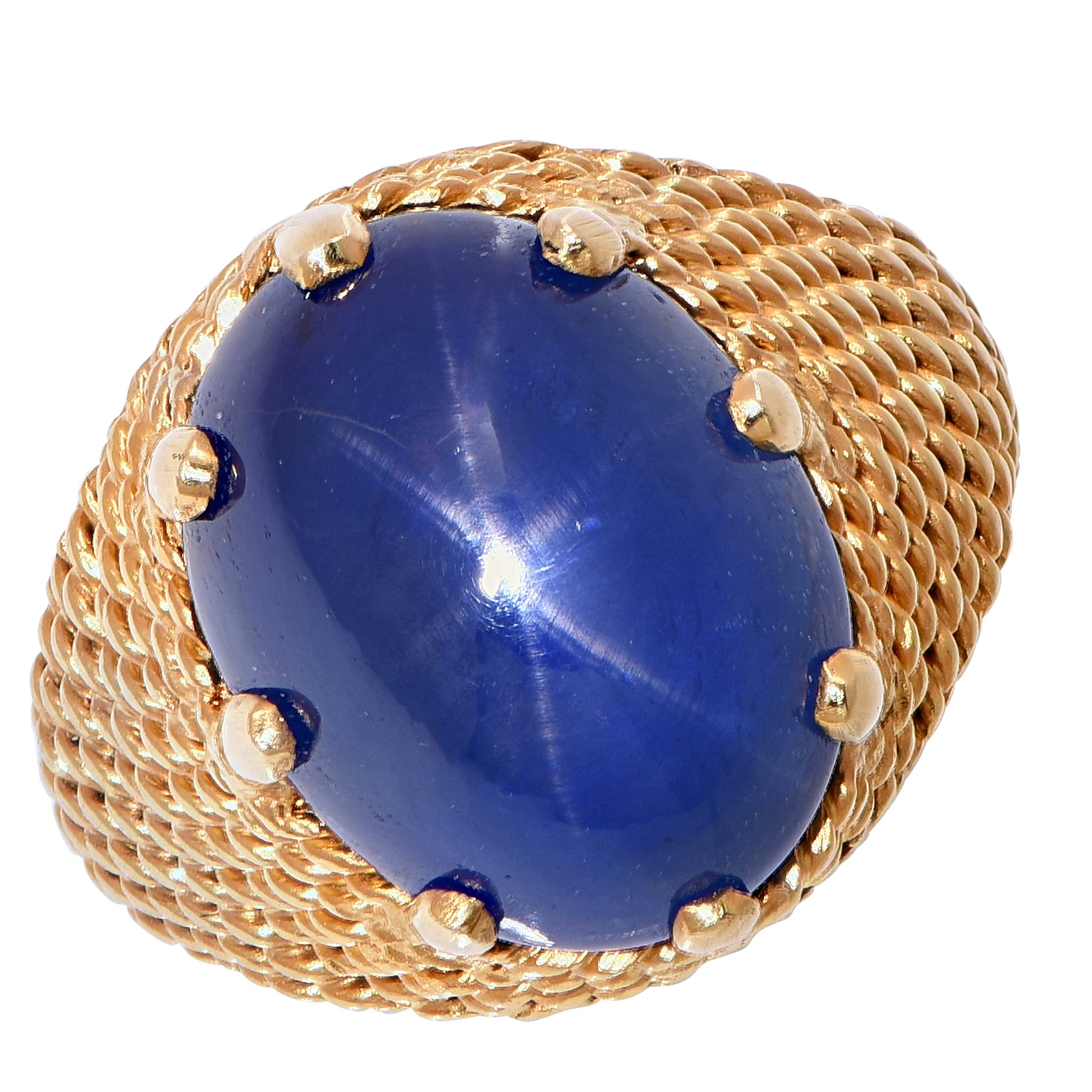sapphire ray blue cabochon asp productdetail star natural