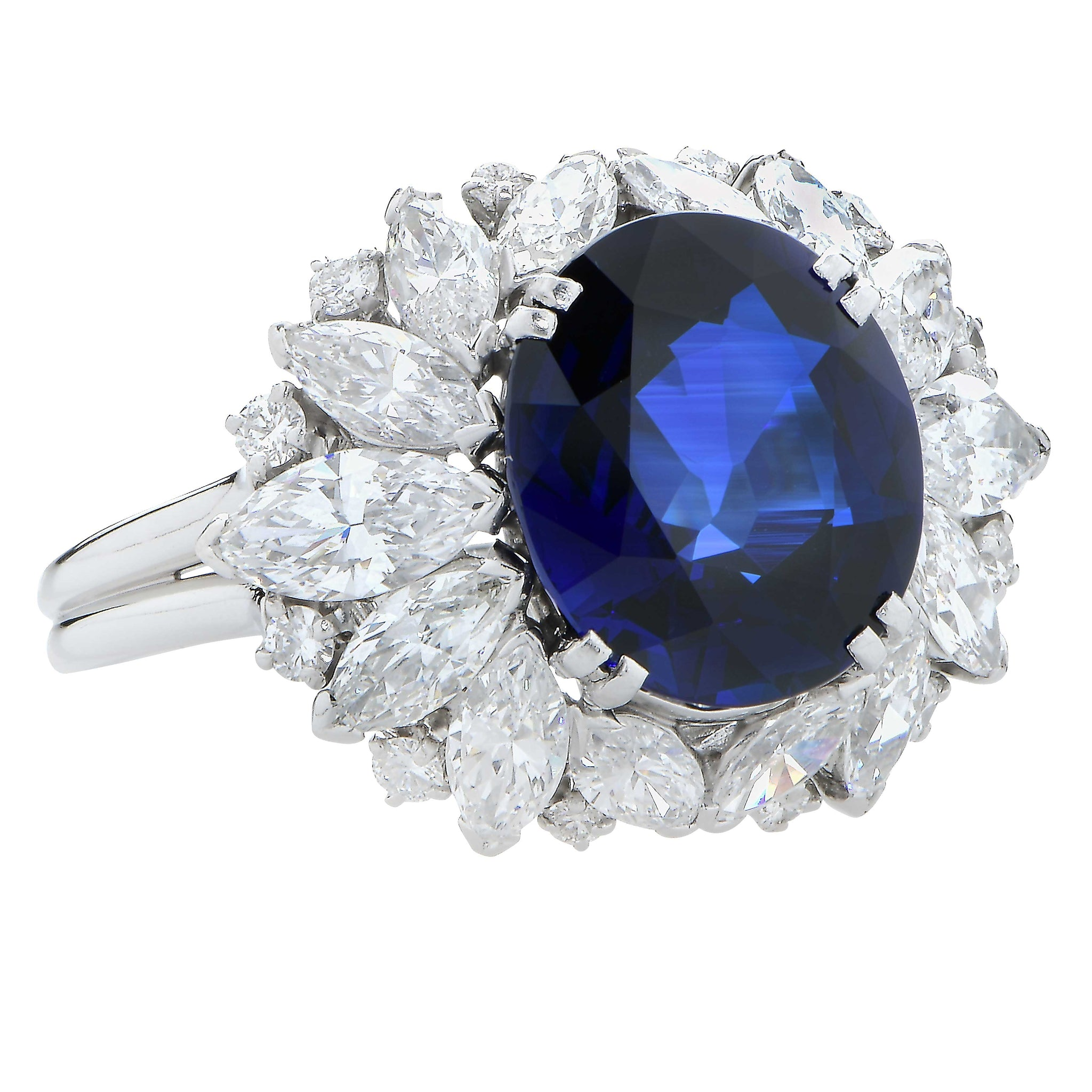 cluster ring featuring round view sapphire graff halo bomb diamond bands bombe and side dome collections of pav a diamonds