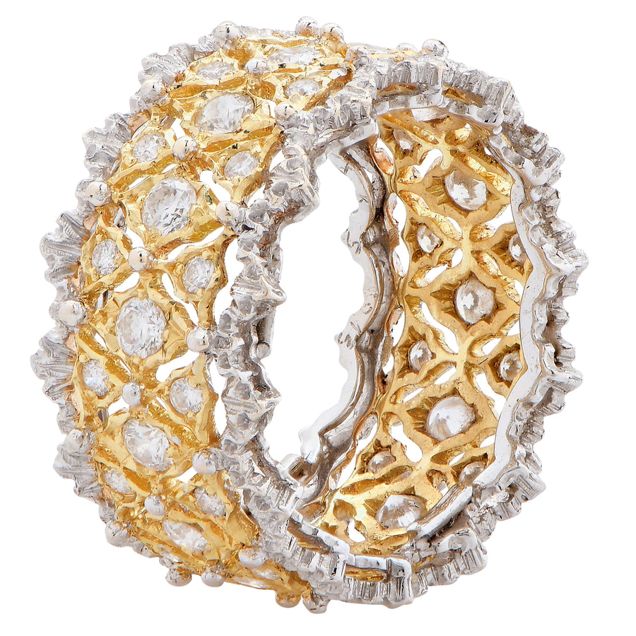 Buccellati Pizzo Venezia Diamond Band