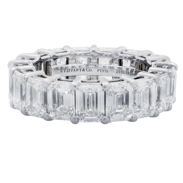 Tiffany & Co. 8.98 Carat Diamond Eternity Band