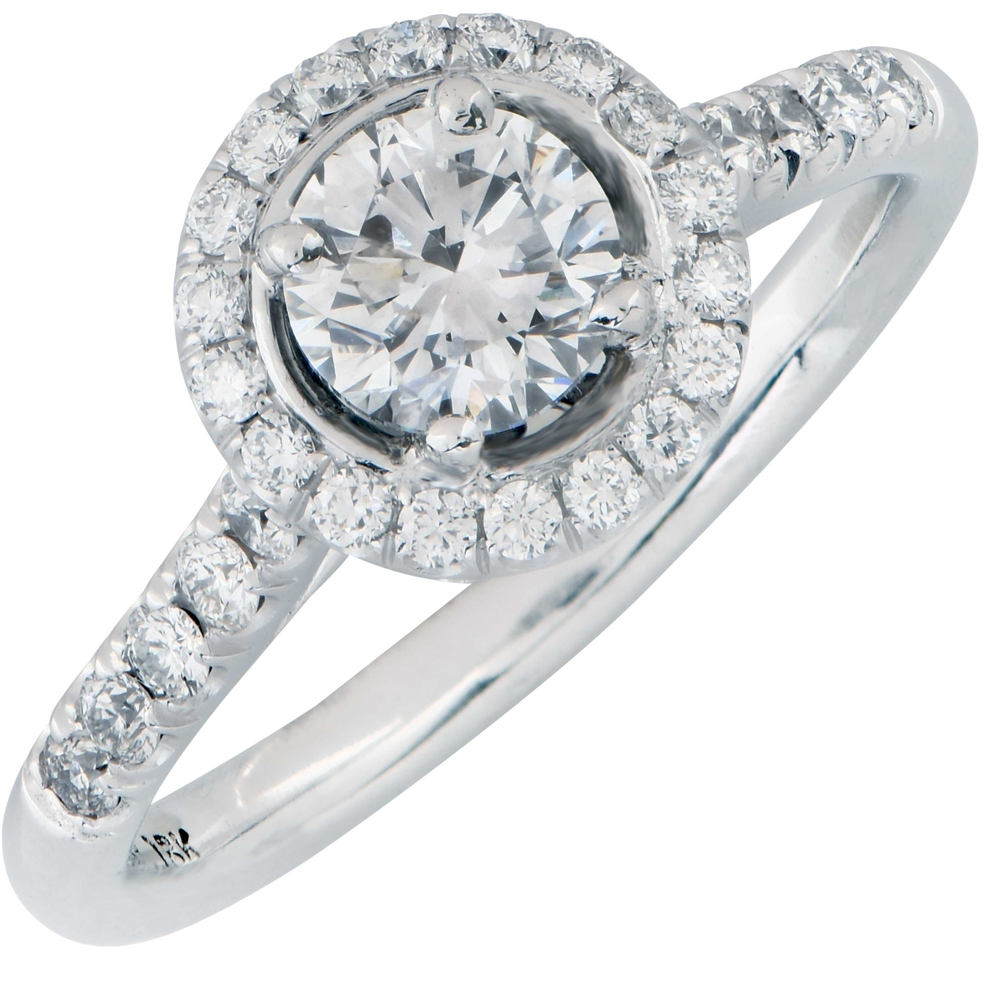 .70 Cts GIA D/VS2 Diamond Engagement Ring