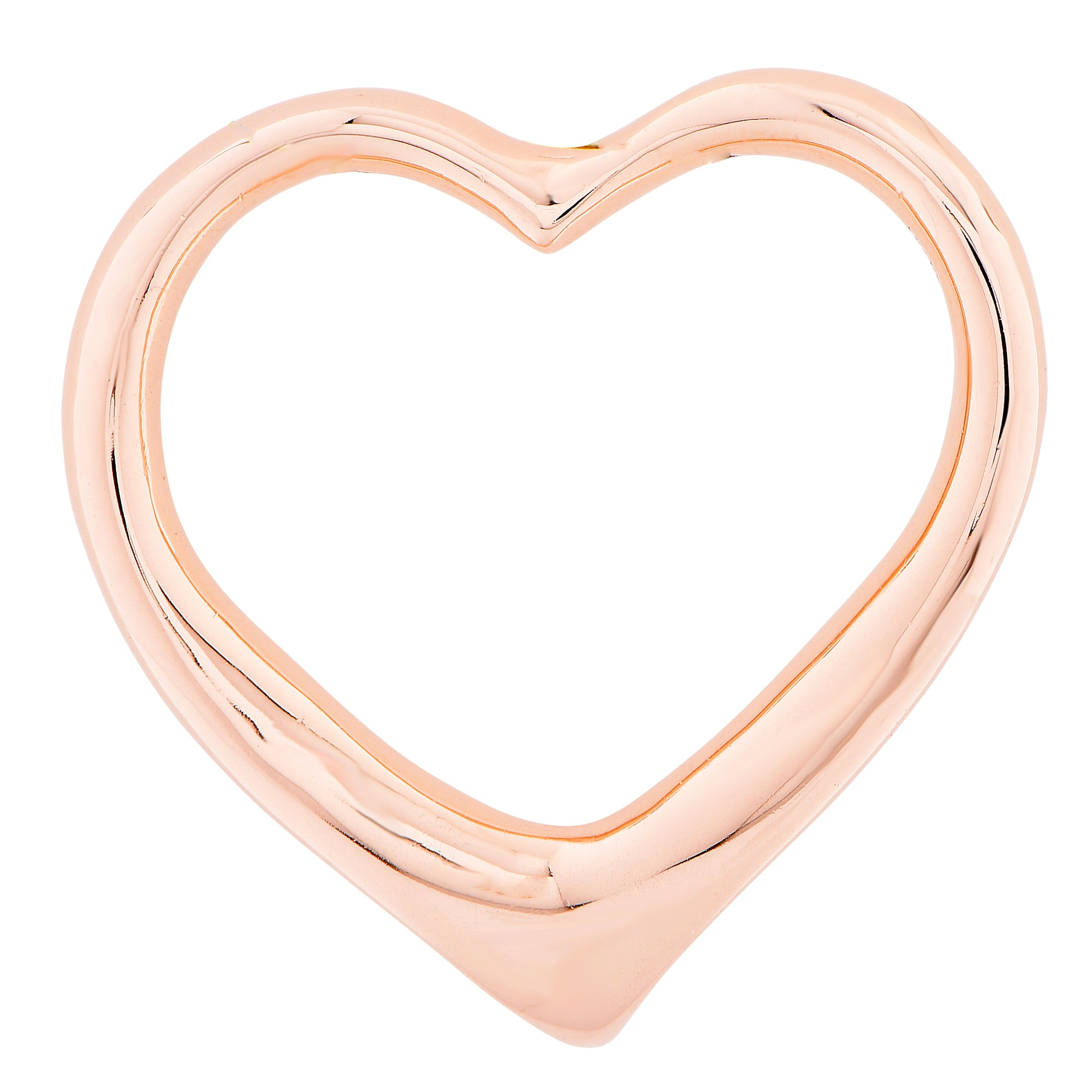 Rose Gold Heart Pendant