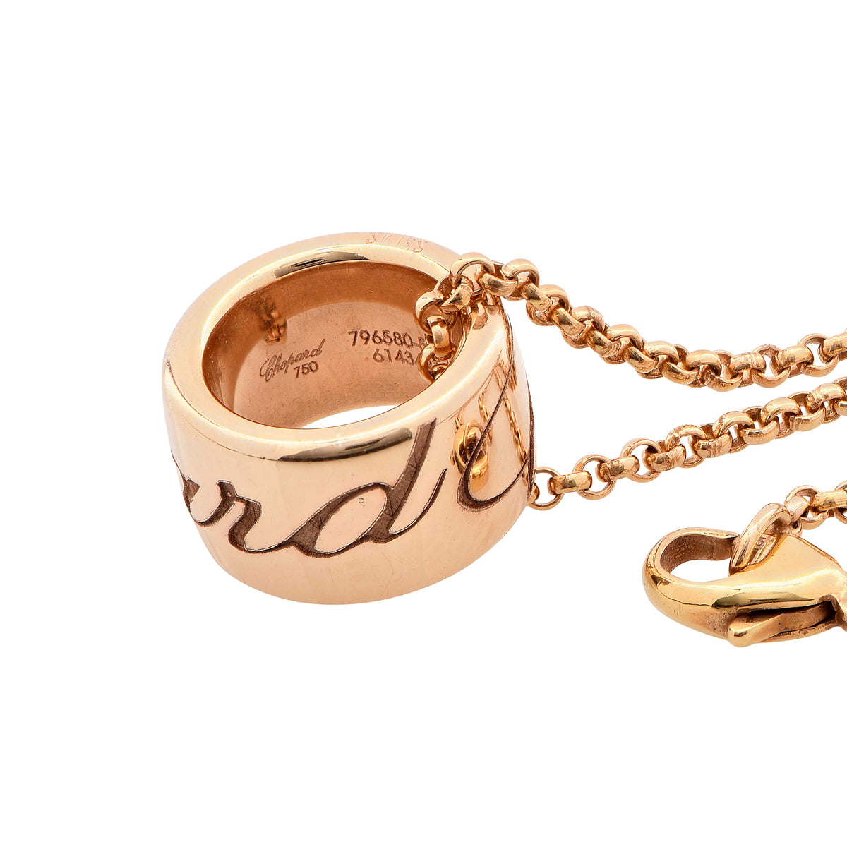 Chopard Chopardissimo 18 Karat Rose Gold Necklace