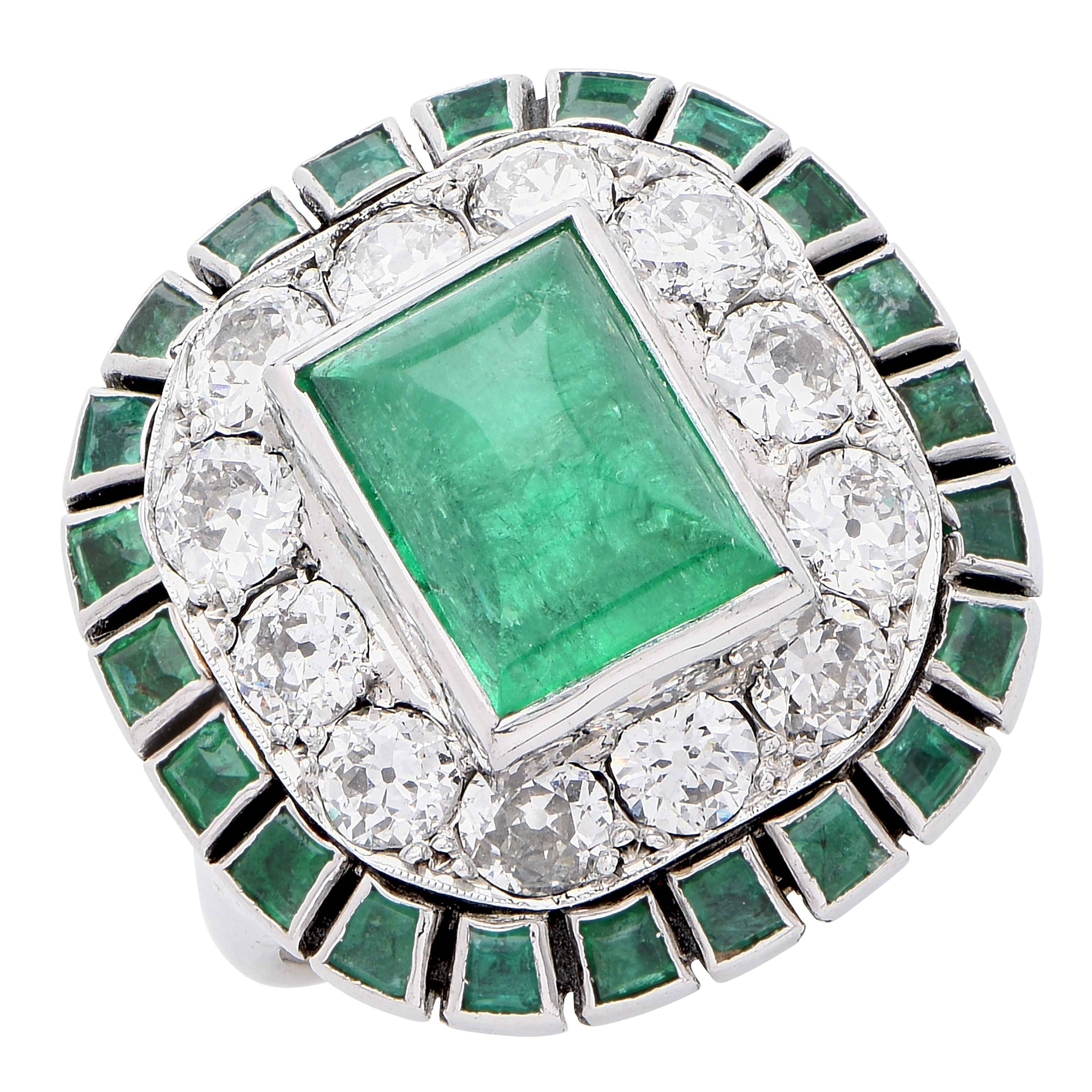 rings for diamond carat sale oval emerald id j ring master and cocktail certified at jewelry