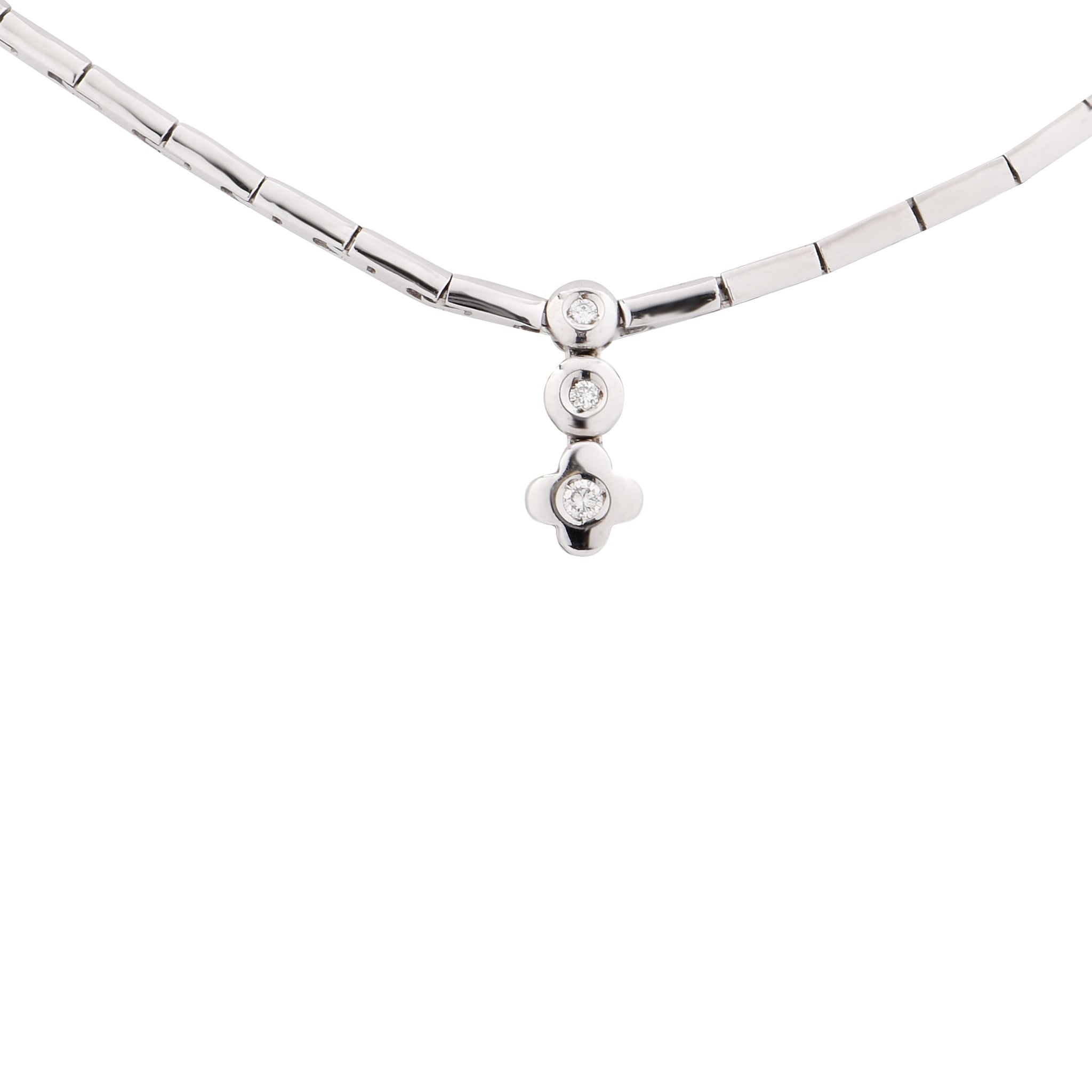 contemporary marquis lane necklace sue modern by designer handmade maker and products diamond silver