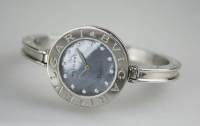 Bulgari Lady's Stainless Steel Diamond Markers B.Zero1 Quartz Wristwatch