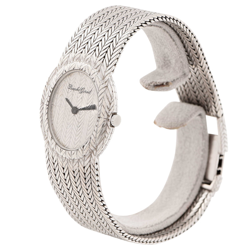Bueche Girod Ladies White Gold Wristwatch