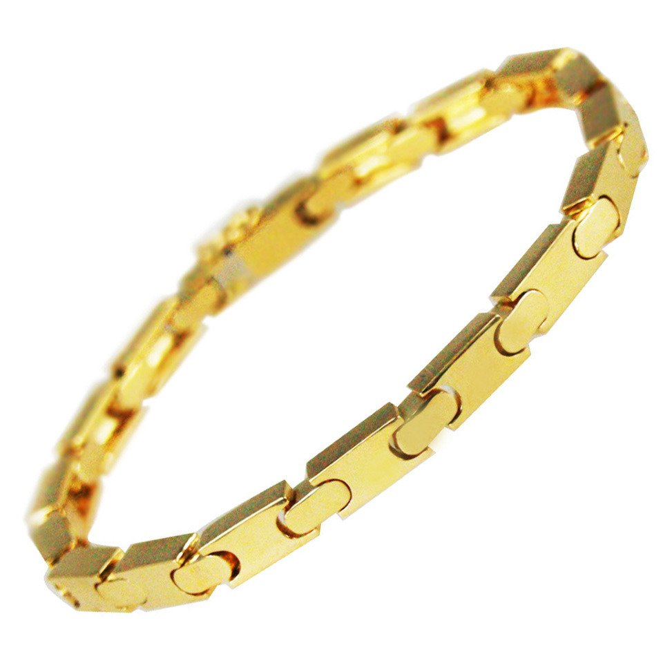Men's 18 Karat Yellow Gold Bracelet