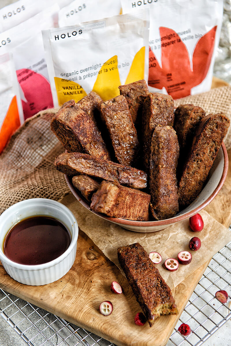Delicious HOLOS healthy french toast recipe