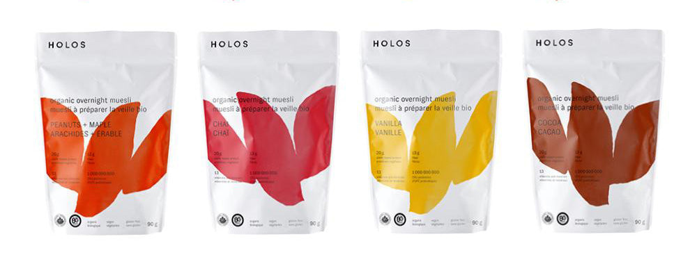 HOLOS new recyclable pouches