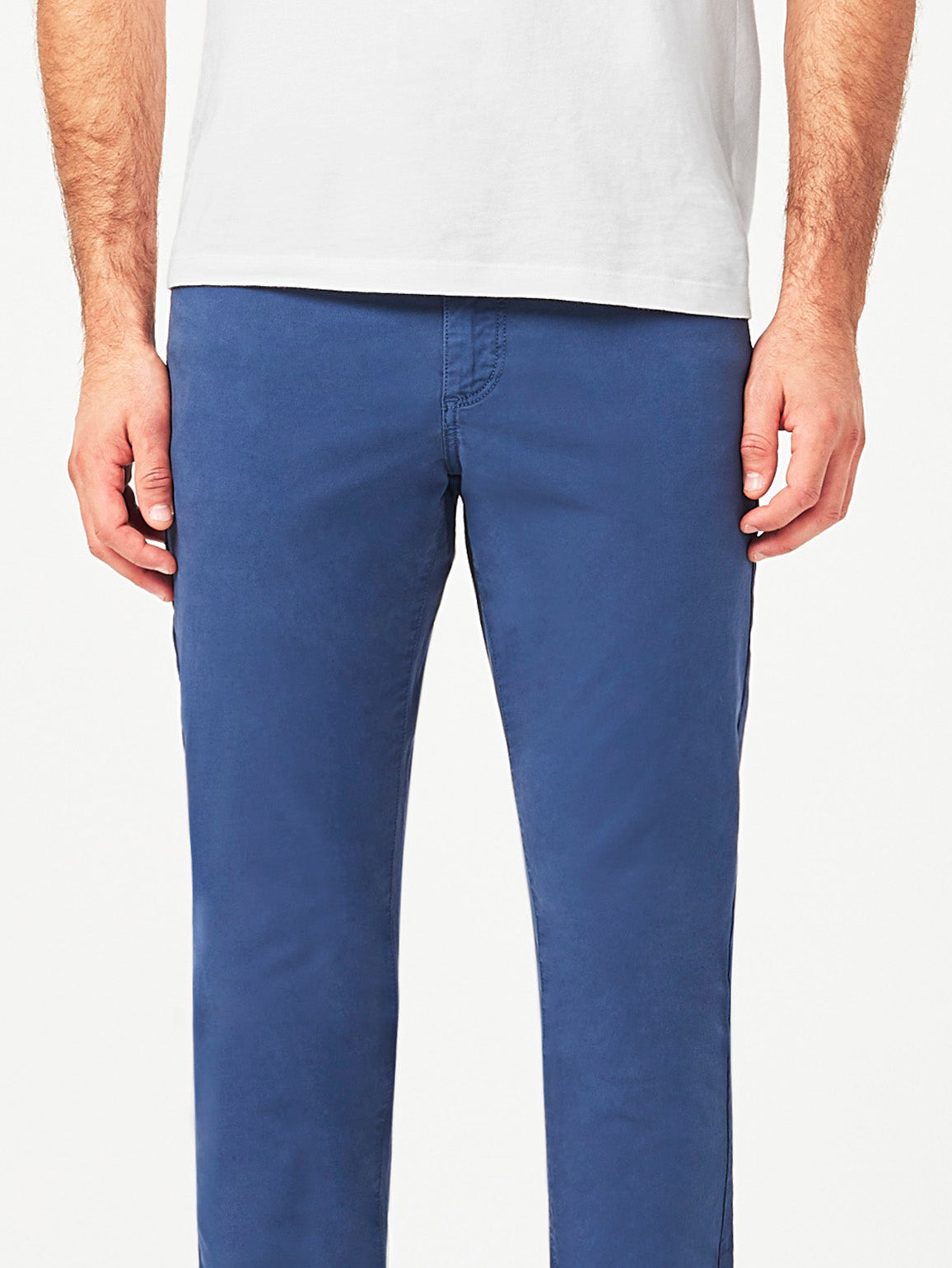 Men - Blue Colored Straight Denim - Avery Straight Noontide - DL1961