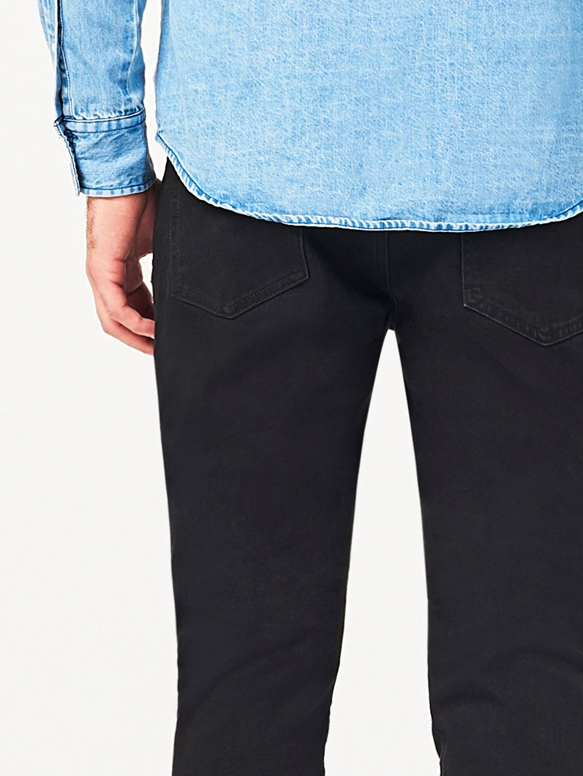 Men - Black Slim Denim - Cooper Relaxed Skinny Matter - DL1961