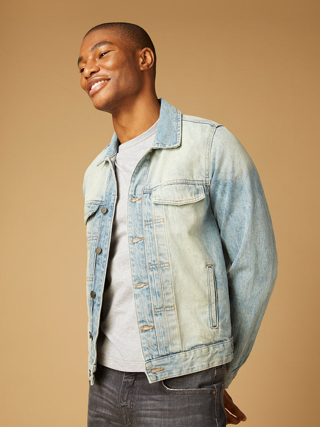 Vaughn Trucker Jacket | Memoir (Light Indigo)