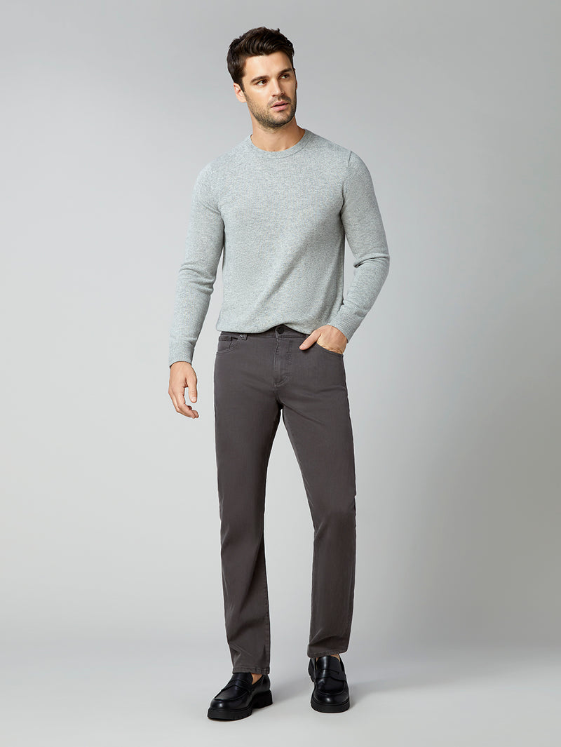 Russell Slim Straight | Charcoal (Grey)
