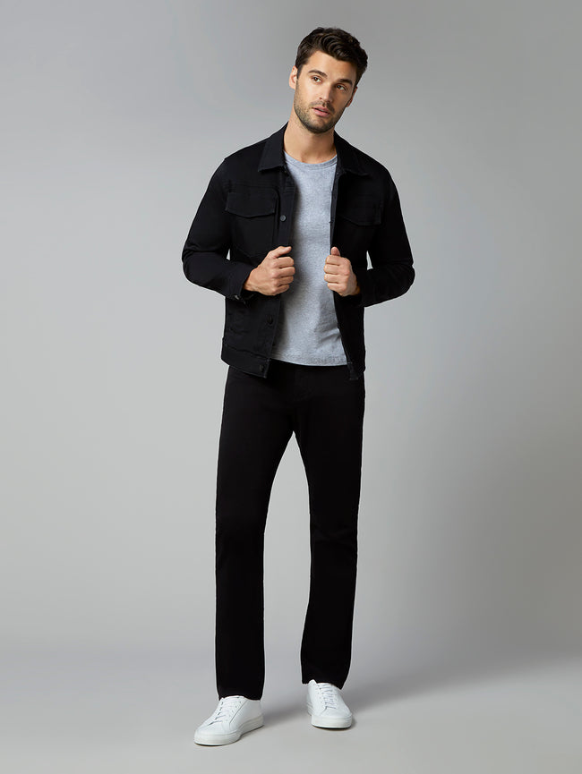 Russell Slim Straight | Cavern (Black)