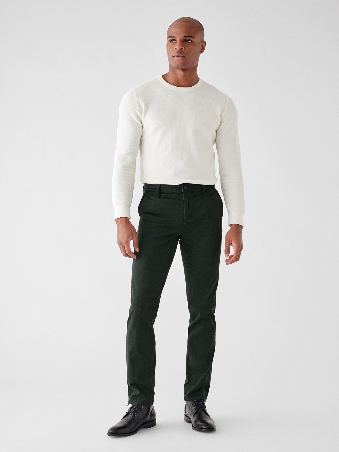 Ivan Slim Chino | Dark Emerald