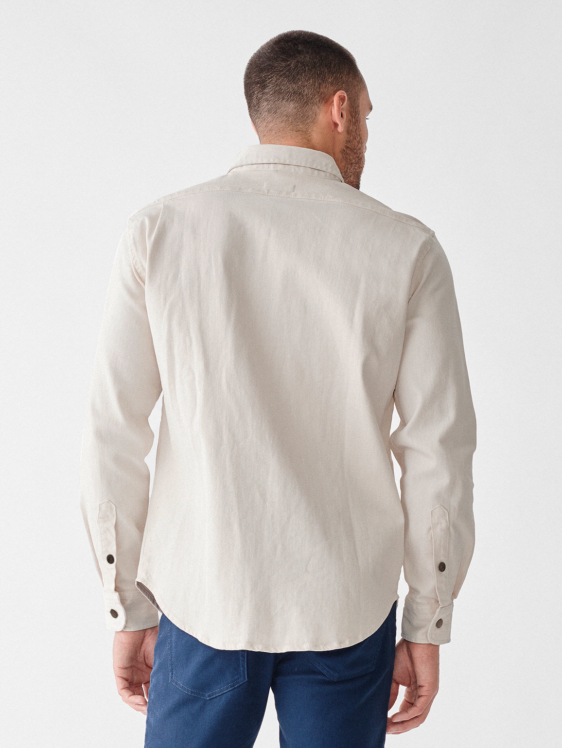 Lance Shirt Jacket | Moonlight