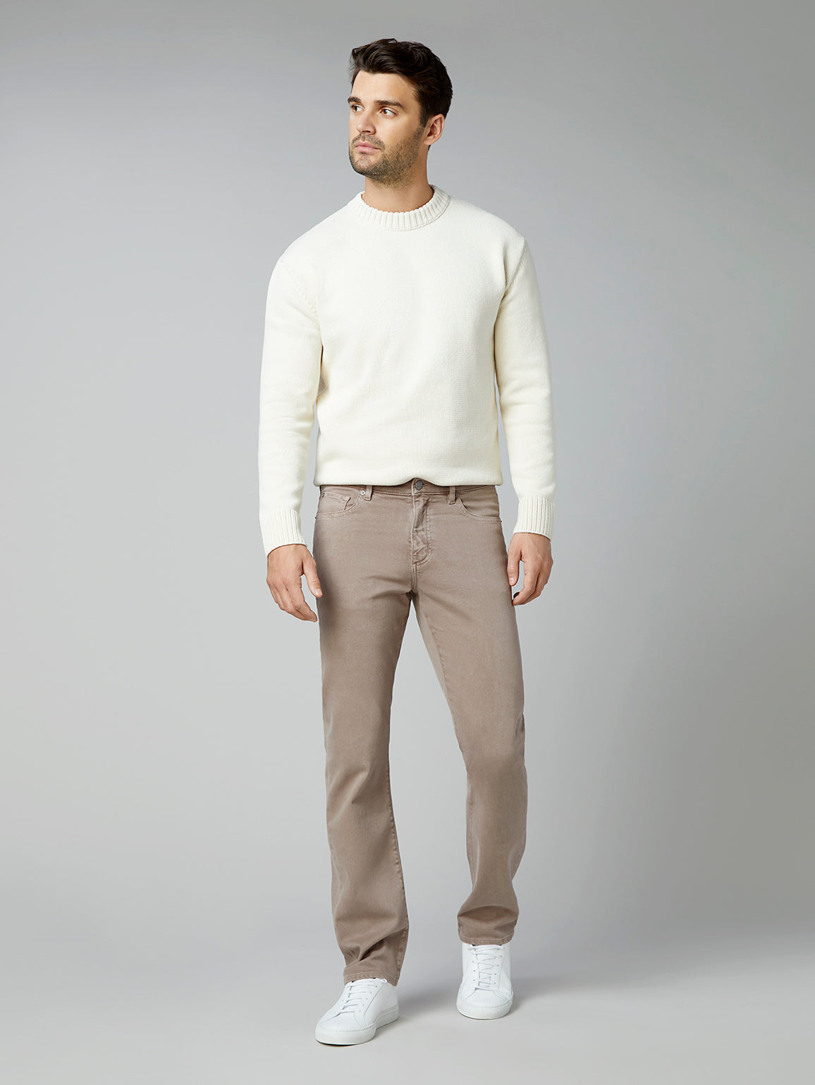 Avery Relaxed Straight | Porcini