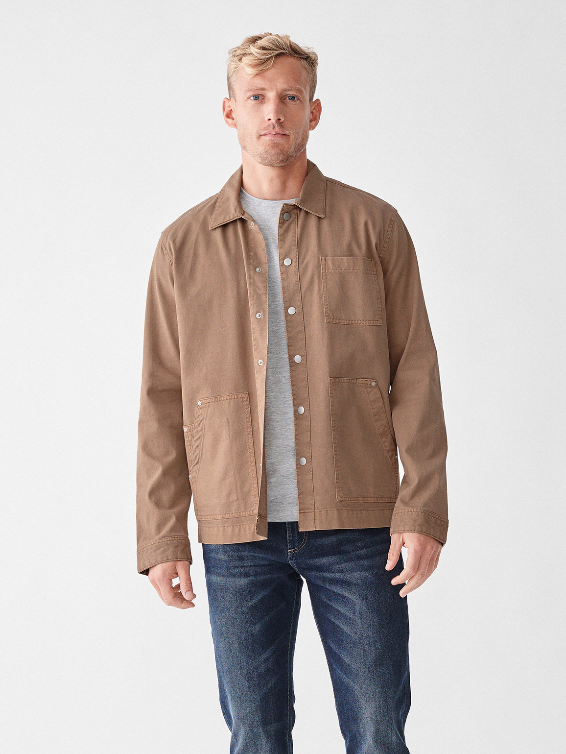 Sean Shirt Jacket | Sceptor