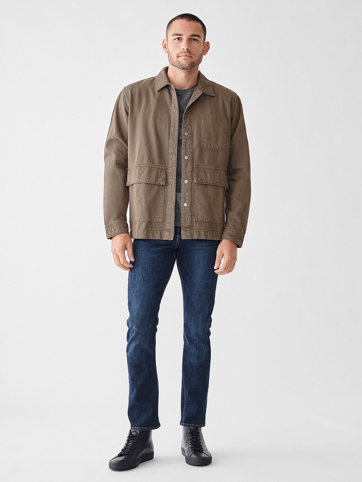 Sean Shirt Jacket | Teddy Green