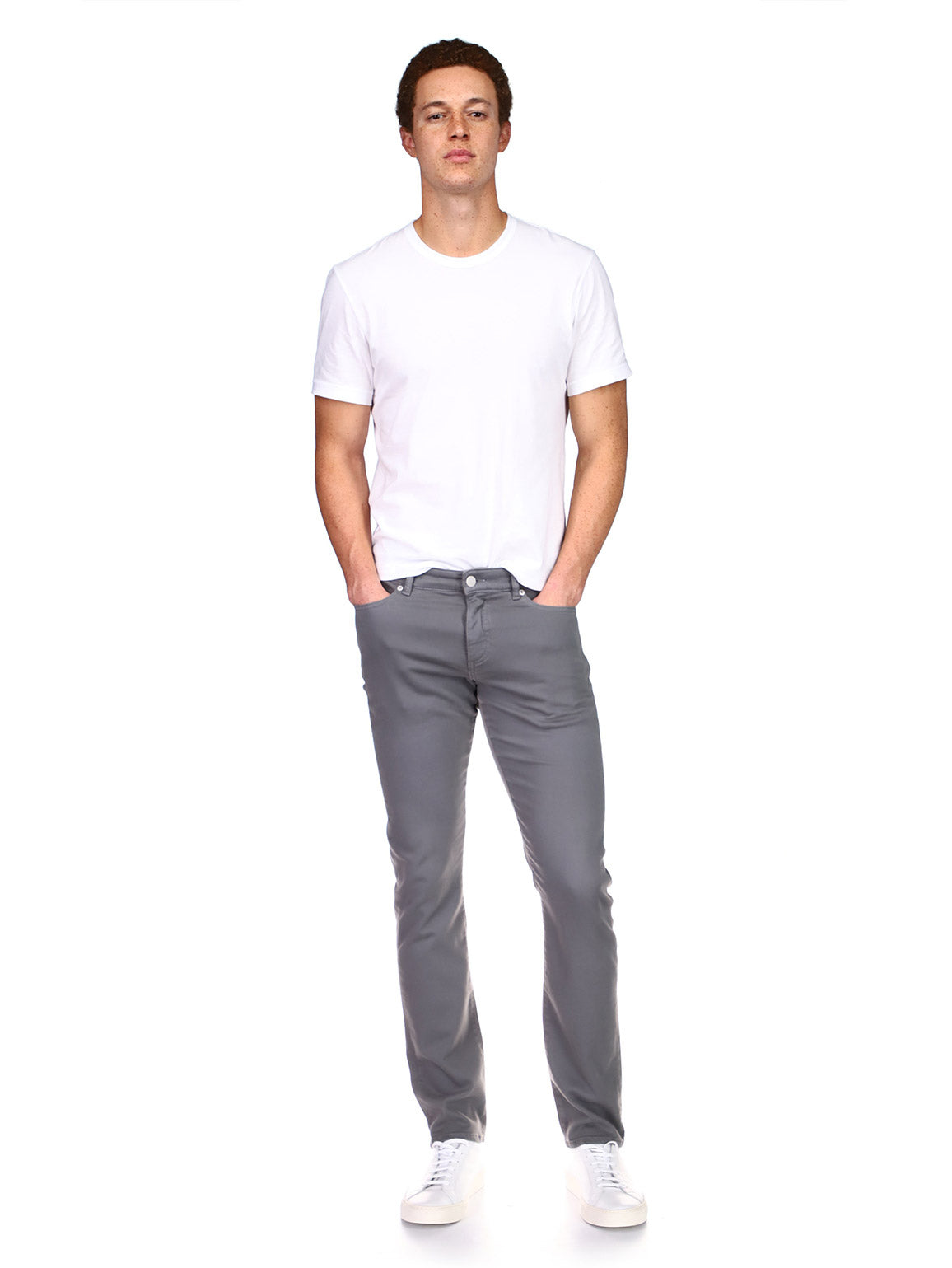Russell Slim Straight | Moss Gray
