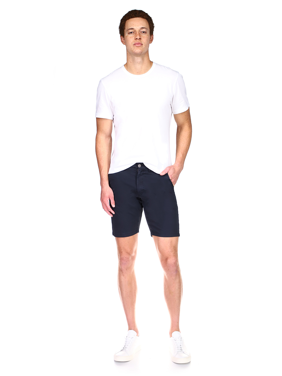 Jake Chino Short | Oxford Navy