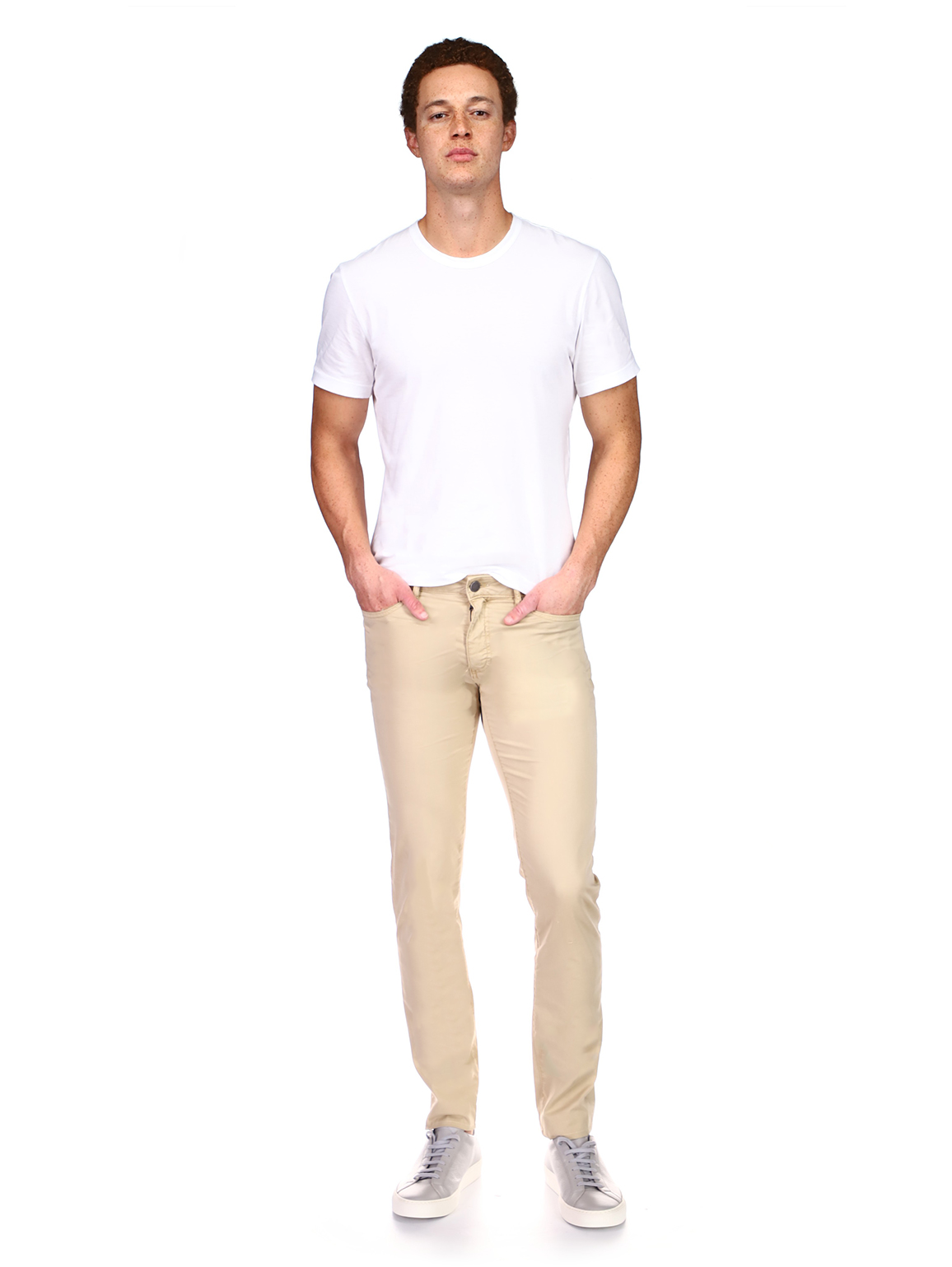 Cooper Tapered Slim | Sand Dollar