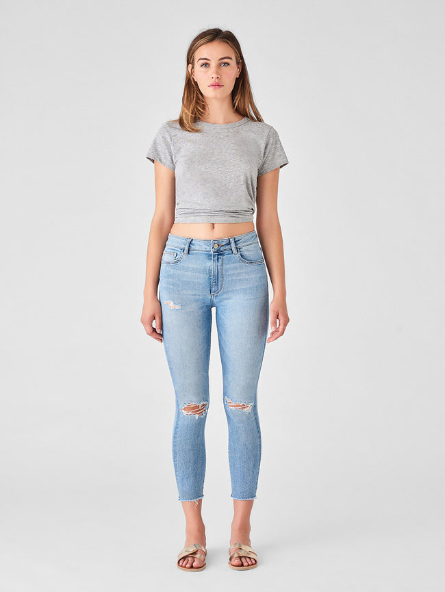 Farrow Crop High Rise Skinny | Toledo