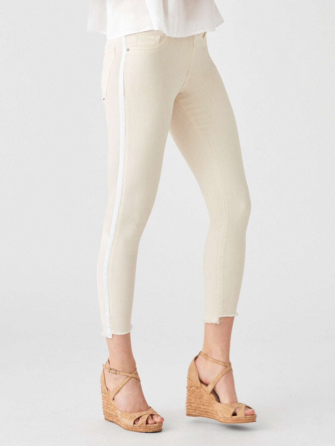 Florence Crop Mid Rise Skinny | Sheridan