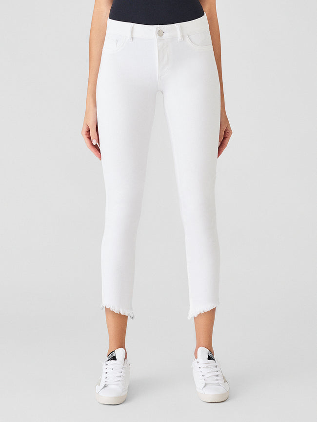 Florence Crop Mid Rise Instasculpt Skinny | Santa Fe