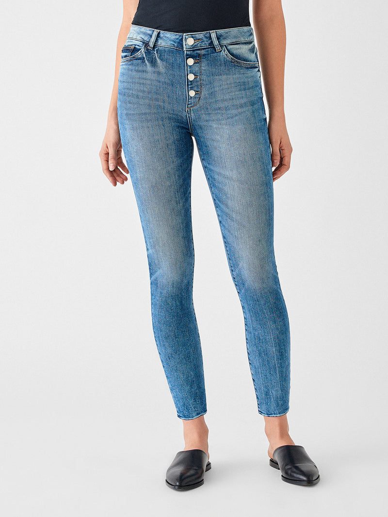 Farrow Ankle High Rise Instasculpt Skinny | Johnston