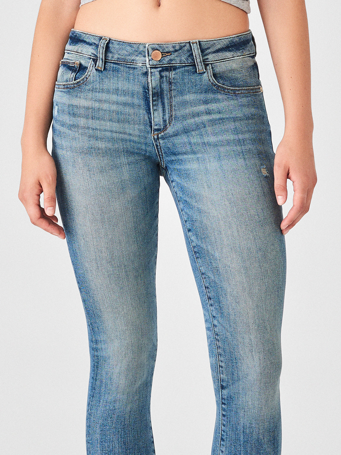 Florence Ankle Mid Rise Skinny | Indio