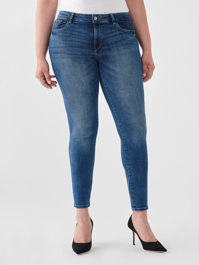 Florence Ankle Mid Rise Skinny | Salerno
