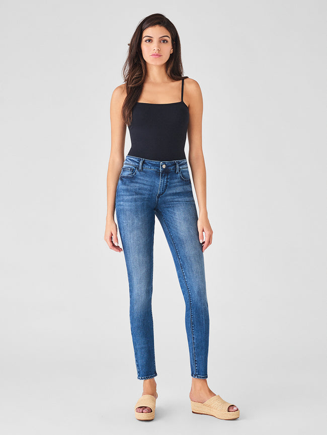 "Florence 34"" Mid Rise Skinny 