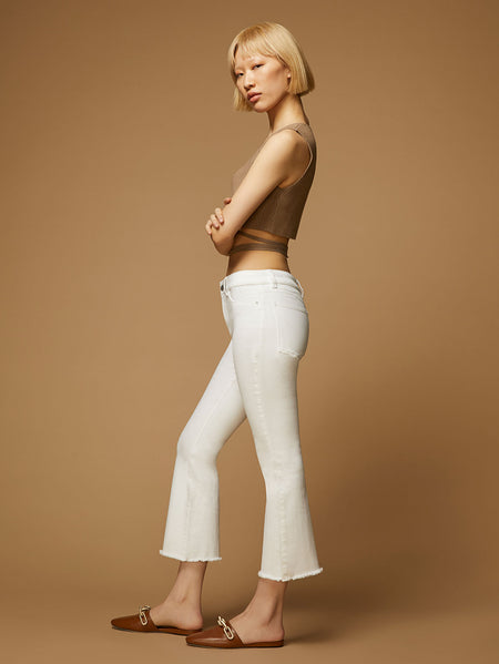 Bridget Crop High Rise Bootcut | Napa
