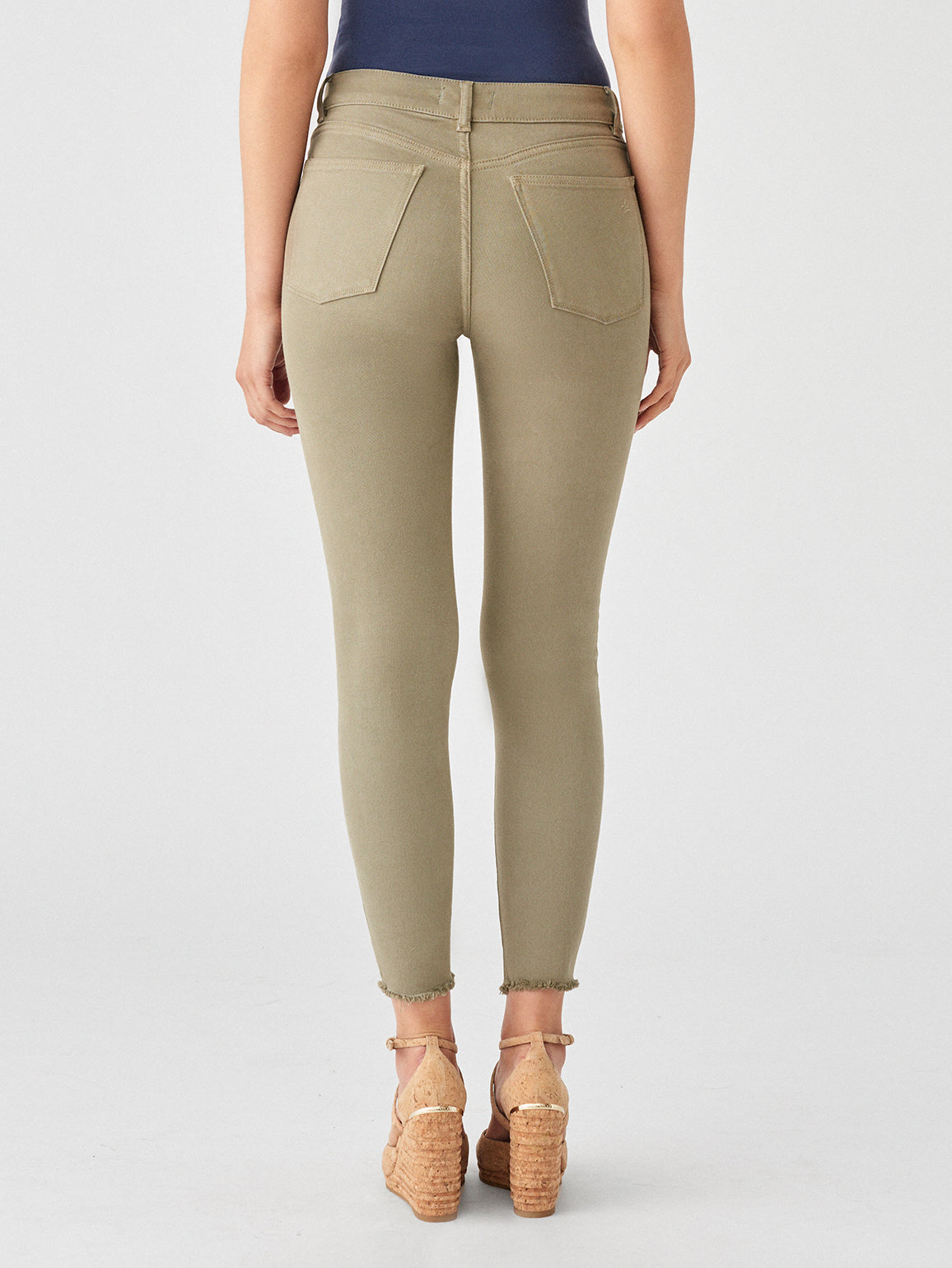 Farrow Crop High Rise Skinny | Seagrass