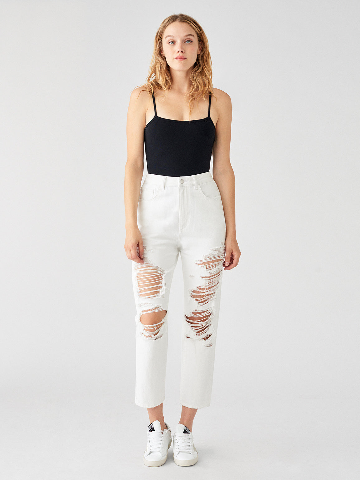 Susie High Rise Tapered Straight | Cole