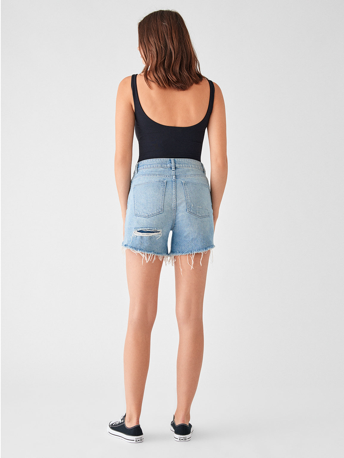Hepburn High Rise Wide Leg Short | Rains