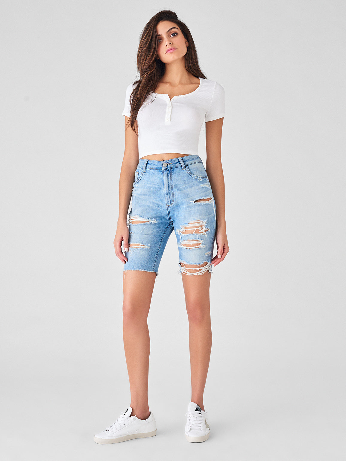Jerry High Rise Bermuda Short | Gabriel